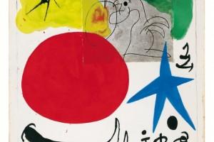 Joan-Mirò,-Senza-titolo,-1970-Tecnica-mista-su-carta,-30x-25cm
