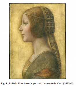 The uncatchable smile in Leonardo da Vinci's La Bella Principessa portrait