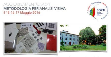 Aggiornamento in Metodologia di Analisi Visiva Maggio 2016