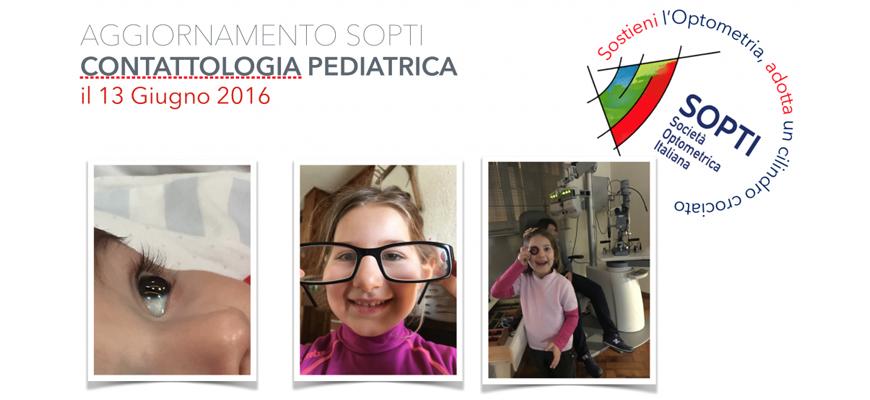 Aggiornamento in Contattologia Pediatrica Giugno 2016