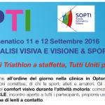 Convegno SOPTI 2016: Visione e Sport con Staffetta Triathlon