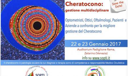 Poster – convegno Cheratocono a Mestre il 22 e 23 Gennaio 2017