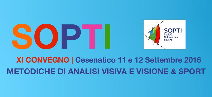 Convegno SOPTI 2016 visione e Sport con Staffetta Triathlon