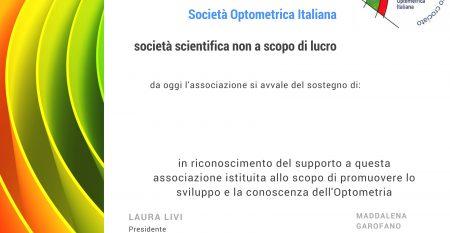 socio sopti SCertificate of Membership