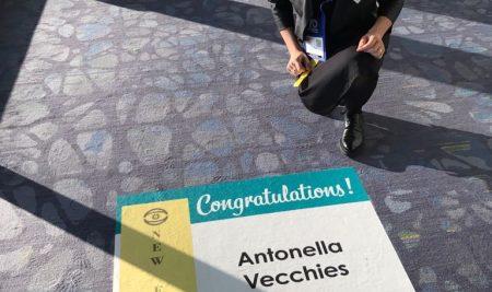 Antonella Vecchies è la prima donna italiana ad ottenere il fellow presso la prestigiosa American Academy of Optometry