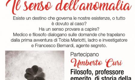 Presentazione romanzo di Diego Ponzin: IL SENSO DELL'ANOMALIA – Padova, 28 giugno 2018