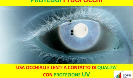 Danni da UV sulla superficie anteriore dell'occhio – evidenze microstrutturali da microscopia confocale